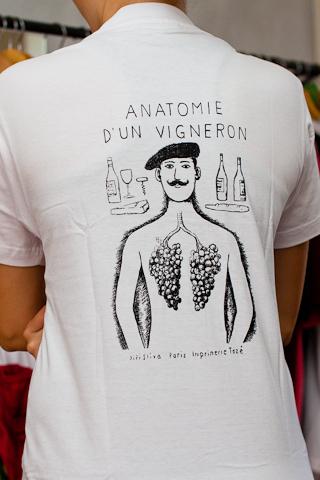 T-Shirt Jiří Slíva - Anatomie D´un Vigenron - CafeFara